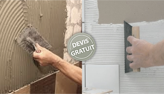 Les types de poses et tapes suivre pour un carrelage mural for Decaper un carrelage encrasse